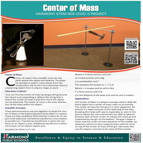Center of Mass PDF