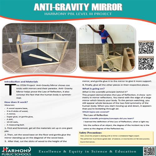 Anti Gravity Mirror PDF